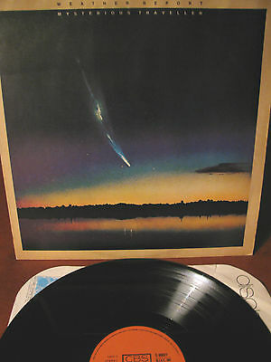 WEATHER REPORT- Mysterious traveller -LP-CBS-Italy-1974- (Zawinul/Shorter-Vitous