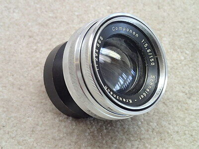 Schneider 150mm f5.6 Componon Vintage Lens for Parts Project AS IS