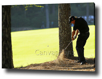 Phil Mickelson The Masters 2010 Canvas Print Poster Picture Wall Art Decor