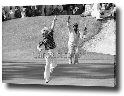 Jack Nicklaus 1975 The Masters Canvas Print Poster Picture Wall Art Decor