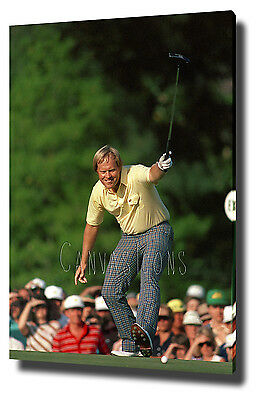 Jack Nicklaus 1986 The Masters Canvas Print Poster Picture Wall Art Decor
