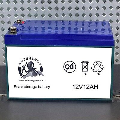 Brand NEW 12V 12AH Sealed Lead-Acid Battery AGM 4 UPS Solar Power Scooter eBike