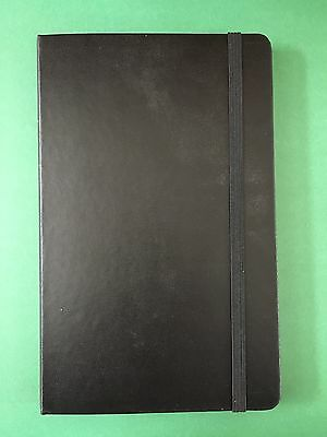 "Moleskine Large Hard Cover Classic Collection Black Square Notebook 5"" x 8.25"""