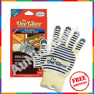 Free 2x Gloves Value Pack Ove' Glove Hot Surface Handler Good Housekeeping A