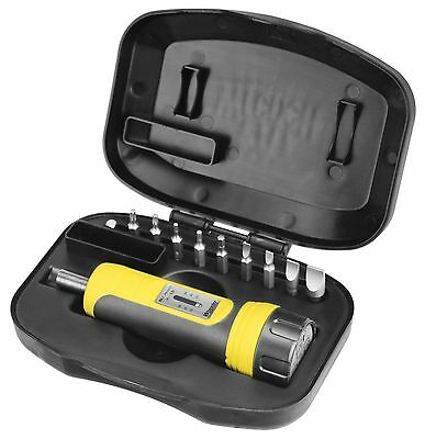 Handheld Torque Wrench Firearms Tool Gunsmithing Screwdriver 10 Bits Set Socket