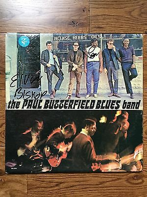 The Paul Butterfield Blues Band Signed Vinyl LP Record Rare Autograph PROOF