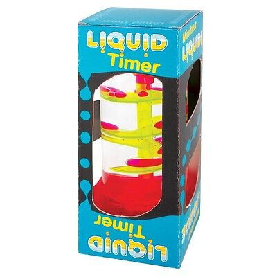 Liquid Bubble Timer - Decorative Visual Autism Adhd Fidget Toy Sensory Spiral