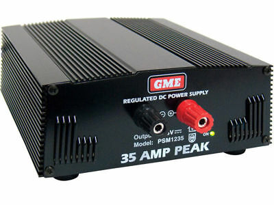 GME Regulated 240 Volt 13.8 VoltSwitch Mode Power Supply 35 Amp Peak