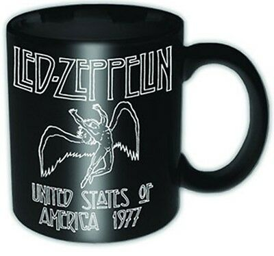 LED ZEPPELIN 1977 USA  Tea Coffee Mug Official Band Merch Ceramic New Boxed