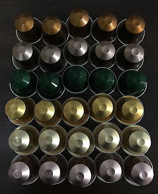 30 Nespresso capsules pods mixed MEDIUM intensity -  SAVE $5 WHEN YOU BUY 2
