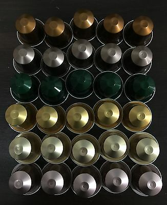 30 Nespresso loose capsules pods -  Mixed MEDIUM INTENSITY