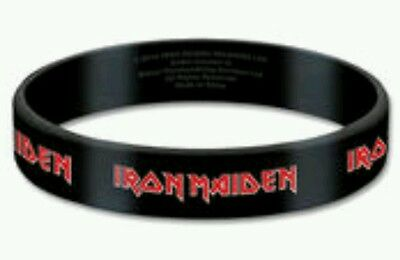 IRON MAIDEN Tails Rubber Gummy Wristband Official Band Merchandise Merch New