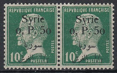 Syrien Syria 1924 ** Mi.248 Pair Louis Pasteur Freimarken Definitives [st0901]