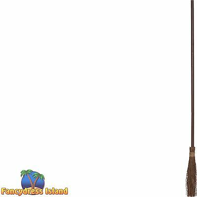 SPOOKY HALLOWEEN WITCHES MAGIC BROOM PROP childs fancy dress costume accessory