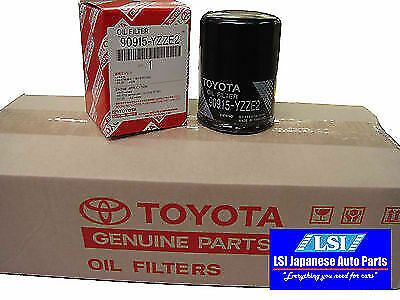 Toyota Genuine Oil Filter 90915-YZZE2 x10 Aus ref: Z432