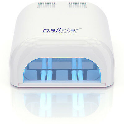 NailStar® Professional 36 Watt UV Nail Dryer UV Nail Lamp for Gel with Timers