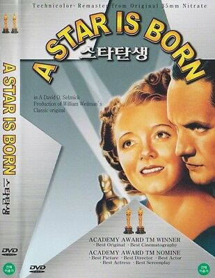 A Star Is Born (1937) Janet Gaynor DVD NEW *FAST SHIPPING*