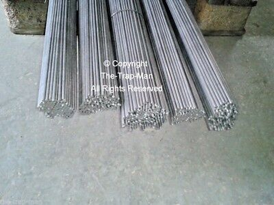 Steel bar 4mm dia 1mt long steel rod Straightened wire  by The TrapMan