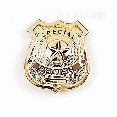 Joy Enterprises FP15925 Fury Special Gold Star Police Badge 2.5 x 2.5-Inch