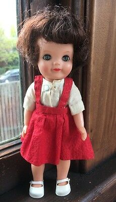 """Effanbee """"Fluffy"""" Doll 1960's with Original Clothing 8"""""""