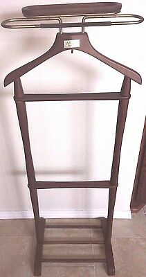 Najico Tokoyo Wooden Vintage Jacket Caddy Valet Stand From Japan