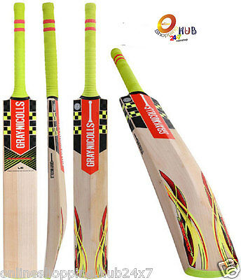 Gray Nicolls Powerbow Five5 GN+ English Willow Cricket Bat SH