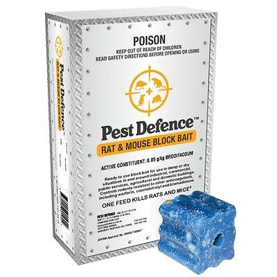 Pest Defence Rat and Mouse Bait 210g