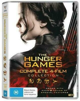 The Hunger Games: Complete Collection DVD R4