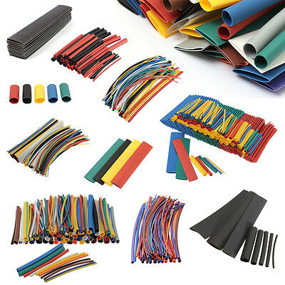 Heat Shrink Tube Assortment Wire Wrap Car Electrical Insulation Sleeving Tubing