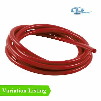 SFS 1 Metre Red Silicone Vacuum Hose / Breather Turbo Rubber Tube Air Water Pipe