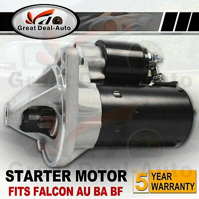 Starter Motor fits Ford Falcon AU BA BF 6cyl 4.0L EB ED XE XF Fairmont Territory
