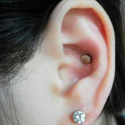 Auricular Magnetic Therapy Crystal Rhinestone Earring for Slimming-Weight Loss