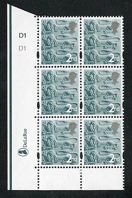 2nd Three Lions DLR One 4.5mm Centre Band Cyl D1 D1 No Dot PD1 Dull Paper