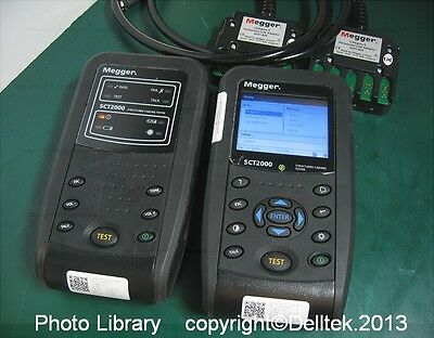Megger SCT2000 Structured Cable Network Lan Analyzer Analyser Certifier Tester