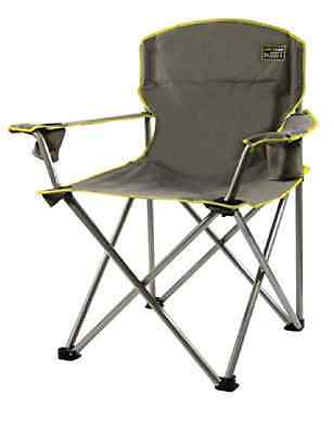 Heavy Duty Oversized Quik Folding Chair w/ Carrying Bag Portable Camping Fishing