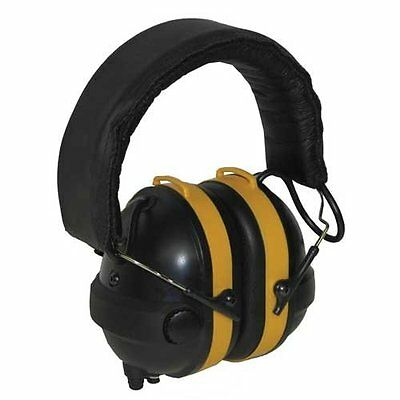 NoiseBuster Electronic Noise Canceling Safety Earmuffs, Ear Defender Protection