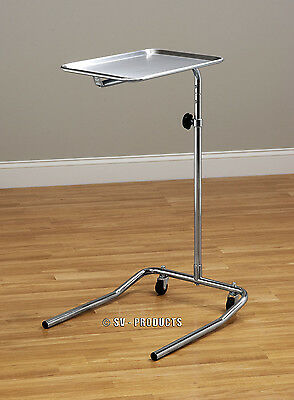 Mobile Physician Surgical Instrument  Mayo Stand Stainless Steel Tray - 221