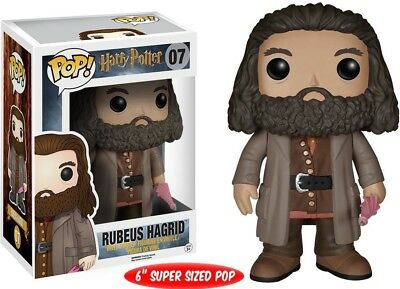 "Funko POP Vinyl Movies: Harry Potter Rubeus Hagrid 6 "" Action Figure"