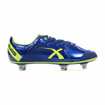 X Blades Young Sniper Speed 6 Stud Kids Rugby Boot Blue