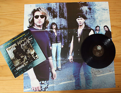 """Bon Jovi - Bed Of Roses Limited Edition 12"""" Vinyl Disc + Giant Poster"""
