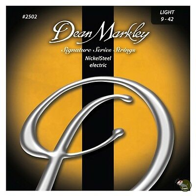 Dean Markley 2502 Nickel Steel Signature Series Light Electric Guitar Strings