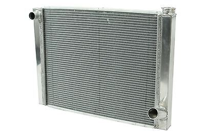 "Dirt Oval All Aluminum Racing Radiator 19""x26"" Chevy 1 Row Single Pass IMCA"