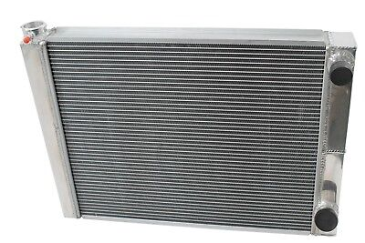 "New Dirt Oval All Aluminum Racing Radiator 19""x26"" 2 Row Double Pass IMCA USMTS"