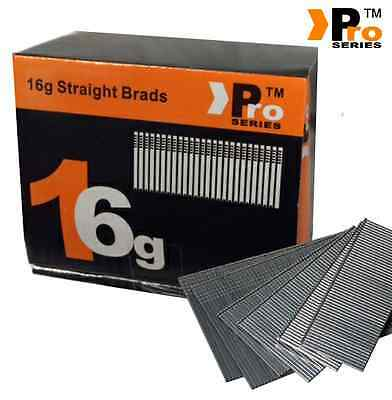 Paslode Hitachi Bostitch  16G Second Fix Nails - Finish Nails - STRAIGHT