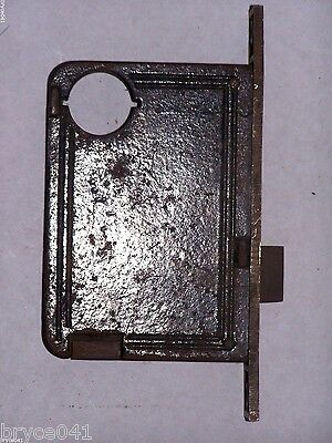 Antique RHCo. Thumb Lever Entry Mortise Lock