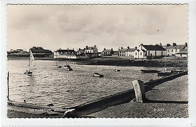 THE HARBOUR, WHITHORN: Wigtownshire postcard (C17310)