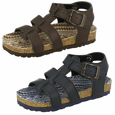 WHOLESALE Boys Sandals / Sizes 6-2 / 16 Pairs / N0035