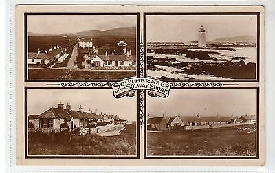 SOUTHERNESS: Kirkcudbrightshire multiview postcard (C16313)