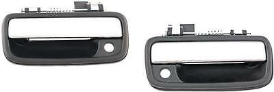 Toyota Tacoma Outside Exterior Door Handles 1995-2004 L/R Front Pair Chrome Pull