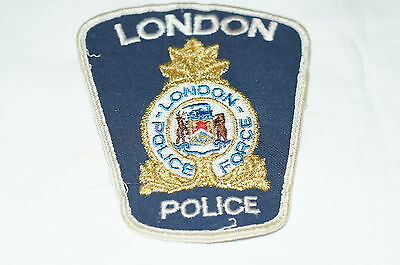 Canadian London Ontario Police Obsolete Patch